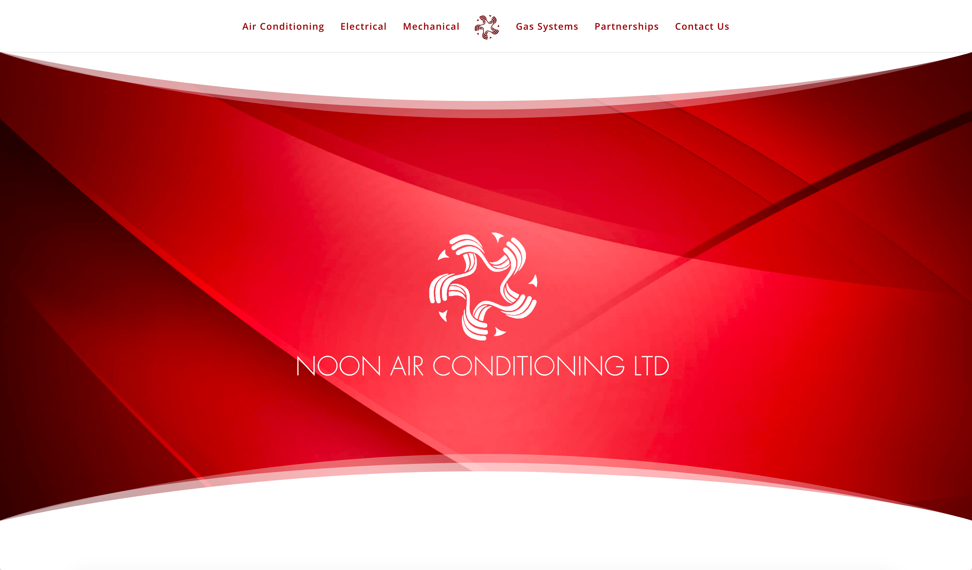 The Noon Air Conditioning Website